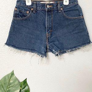 Levi's Shorts - 517 vintage Levis high waisted shorts cutoffs